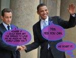 Obama-And-Sarkozy-Dialogue